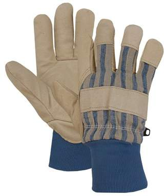 Boss Gloves 4341 Extra Large Poly-Insulated Grain Pigskin Leather Palm Knit Wrist Leather Palm Gloves