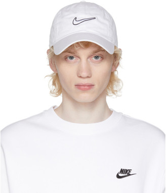 Nike White Essential Swoosh Heritage 86 Cap