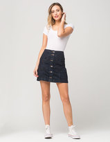 Free People Come A Little Closer Denim Skirt