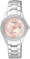 Citizen WR50 Ladies Eco-Drive Stainless Steel Bracelet Watch