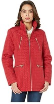 Vince Camuto 28 Quilted Jacket V19704 (Carmine Red) Women's Coat
