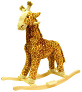 Happy Trails Giraffe Plush Rocking Animal