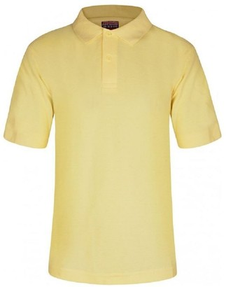 2PK Classic Boys Plain Ages 3-16y Polo Shirts 100/% Cotton Children School T-Shirt Tee Shirt Uniform Summer