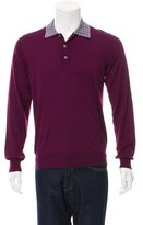 Brioni Wool Polo Sweater w/ Tags