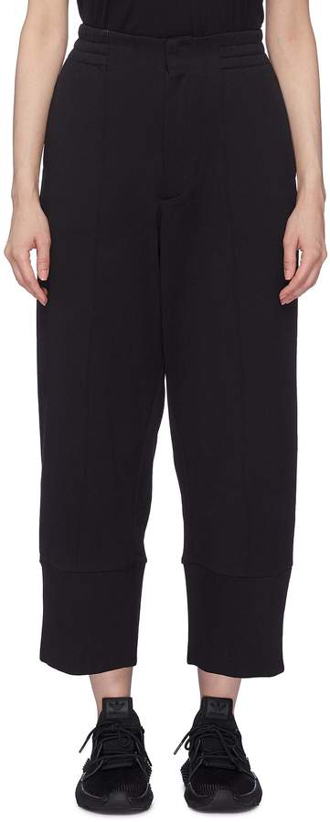 Y-3 Pintucked sweatpants