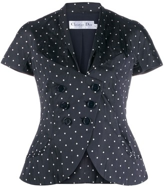 Christian Dior Pre-Owned Polka Dot Jacket