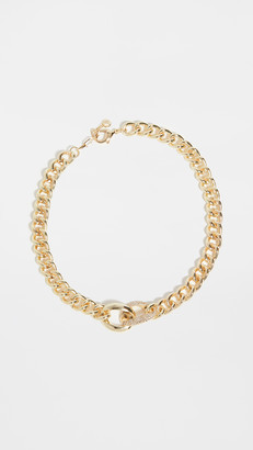 Jules Smith Designs Toggle Chain Pave Necklace