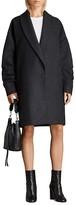 AllSaints Kenzie Ruched Coat
