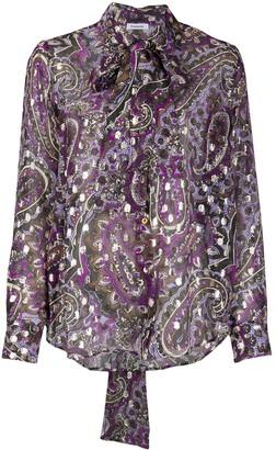 P.A.R.O.S.H. Paisley-Print Silk Shirt