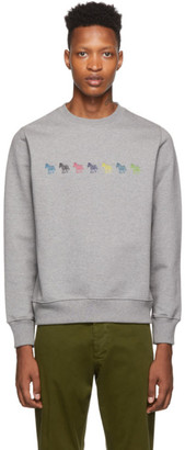 Paul Smith Grey Regular Fit Sweatshirt