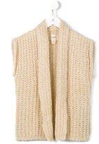 Bellerose Kids - sleeveless knit top - kids - Polyamide/Mohair/Wool/Polyacrylic - 4 yrs
