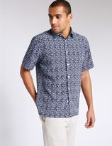 Marks and Spencer Easy Care Printed Shirt