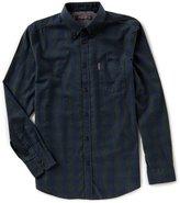 Ben Sherman Long-Sleeve Ombre Check Shirt