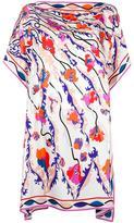 Emilio Pucci floral print tunic - women - Silk - 40