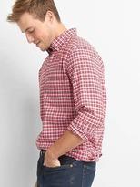 Gap Oxford tattersall standard fit shirt