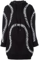 Kokon To Zai 'Baseball Hoodie' dress