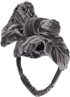 Tia Cibani Rayon & Silk Headband W/ Applique