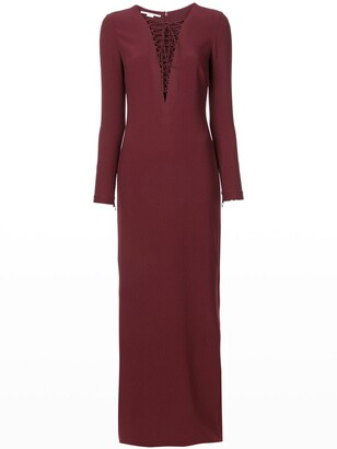 Stella McCartney Lace-Up Gown