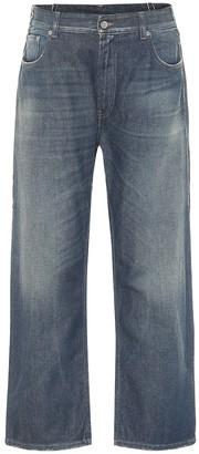 MM6 MAISON MARGIELA High-rise straight jeans