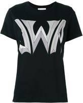 J.W.Anderson logo print T-shirt - women - Cotton - S