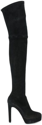 Casadei Over The Knee Heeled Boots