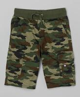 Ecko Unlimited Woodland Camo Shorts - Boys