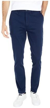 J.Crew Skinny Stretch Chino (Navy) Men's Casual Pants