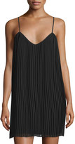 Romeo & Juliet Couture Pleated Strapless Dress, Black
