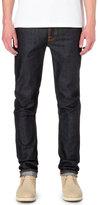 Nudie Jeans Grim Tim Slim-fit Straight Organic Jeans
