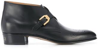 Gucci Brogue Detail Boots