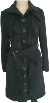 Diane von Furstenberg Black Cashmere Coat for Women