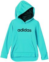 adidas Girls 4-6x Droptail Fleece-Lined Pullover Hoodie