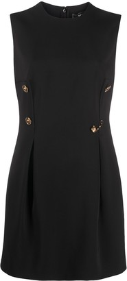 Versace Safety Pin Detail Mini Dress