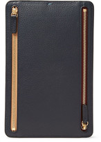 Smythson Burlington Full-Grain Leather Currency Case