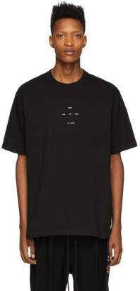 Song For The Mute Black Oversized Logo T-Shirt