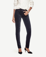 Ann Taylor Petite Modern Skinny Velvet Jeans