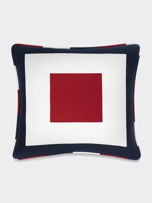 Tommy Hilfiger Square Frame Decorative Pillow