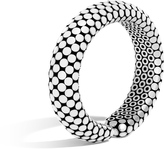 John Hardy Women's Dot 15.5MM Cuff in Sterling Silver with Enamel