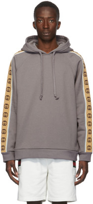 Gucci Grey Interlocking G Hoodie