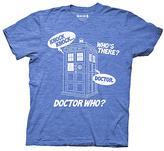 Ripple Junction Doctor Who Knock Knock Joke Tee - Men's Regular