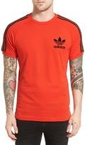 adidas Men's 'California' Raglan Crewneck T-Shirt