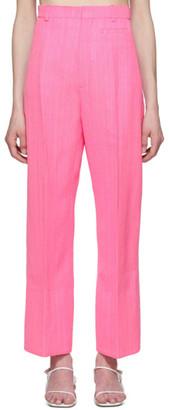 Jacquemus Pink Le Pantalon Santon Trousers
