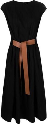 Loewe Belted Wool Dress