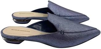 Nicholas Kirkwood Purple Glitter Sandals