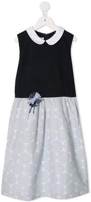 Familiar Dotted Skirt Dress