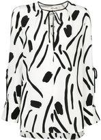 Diane von Furstenberg printed tunic blouse - women - Silk - 12