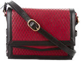 Christian Louboutin Farida Lattice Embroidered Leather Crossbody Bag