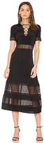 Rebecca Minkoff Marshall Dress in Black. - size 2 (also in )