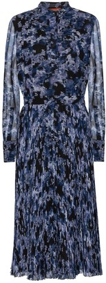 Altuzarra Emilia printed crepe midi dress