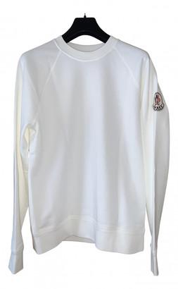 MONCLER GENIUS White Cotton Knitwear & Sweatshirts